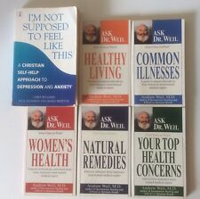 Health Books Bundle Ask Dr Weil Self Help Non-Fiction Common Illness Information