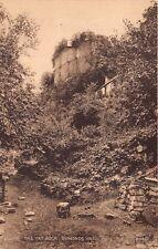 Symonds Yat Uk The Yat Rock~Valentines Sepia Photo Postcard 1959