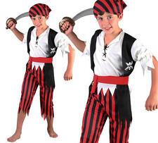 Para Niños Niños Niño Piratas Del Caribe Disfraz Bucanner M