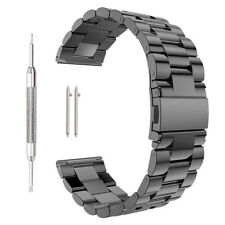 Quick Release Stainless Steel Link Bracelet Watch Bands Strap 18mm / 20mm / 22mm