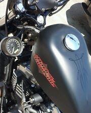 ♧ Sportster BOBBER BRACKET Speedometer Relocation Side Kit for Harley BEST ONE ♤