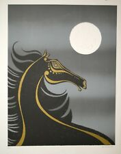 Llewellyn of Carlo- Print Original - Lithography - Horse