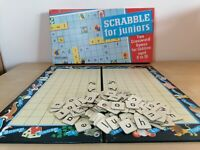 ORIGINAL VINTAGE SCRABBLE For JUNIORS Children's Word Game 1959 Boxed BOARD GAME