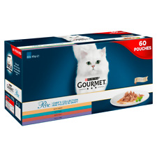 Purina Gourmet Perle Chef's Collection in Gravy Wet Cat Food 60x85g