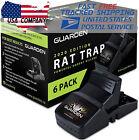 Best Rat Killers - 6Pack Large Rat Traps Big Reusable Snap Traps Review