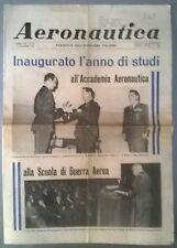 AERONAUTICA PERIODICO N.23 DEL 15/12/71 INAUGURATO L'ANNO DI STUDI - 249