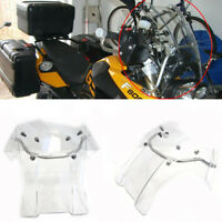For BMW Touring F 650 GS F 800 GS Clear Windscreen Windshield Screen W Mount