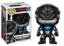 POWER RANGERS FILM POP! VINILE PERSONAGGIO - Nero Ranger NUOVO
