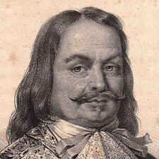 Portrait XIXe Michiel Adriaenszoon de Ruyter Marine Holande Pays Bas 1835