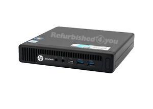 HP EliteDesk 800 G2 USFF i5-6500T 2,5Ghz 8GB DDR4 256GB SSD 6x USB 3.0 Win10Pro