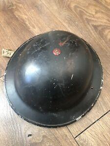 Ww2 british steel helmet dated 1939 Briggs Motor Bodies 1939 Liner Size 7