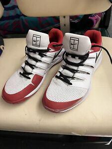 Nike Air Zoom Vapor X HC White/Black/University Red 12 No Box