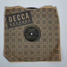 1940's Bing Crosby - Cowboy Songs Vintage 78 Record (Decca DL 5107)