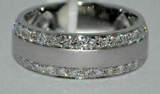 1.85Ct Men's Round Diamond Engagement Wedding Ring 14K White Gold Solitaire Ring