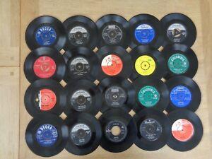 "Job Lot 50s/60s 7"" Vinyl Records - Rock & Pop - Billy Fury Bill Haley Jan & Dean"