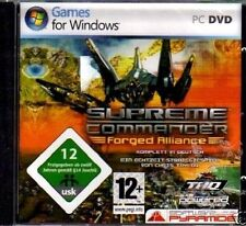 Supreme Commander: FORGED Alliance-pc dvd-rom-Neuf