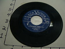 Vintage Childrens Record--LITTLE BLACK SAMBO part 1 and 2 RCA VICTOR wby 19