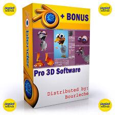 3D Game Animation Computer Software Rendering Modeling Graphics Design - #B1