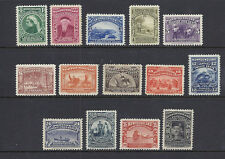 NEWFOUNDLAND 1897 Victoria Jubilee set (SG 66-79) VF MH *read desc*