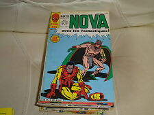 NOVA n° 89 de 1985 - SPIDER MAN - LES FANTASTIQUES - IRON MAN - comme neuf.