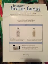 Philosophy Instant Home Facial Kit