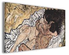 Quadro moderno Egon Schiele vol XXIII stampa su tela canvas pittori famosi