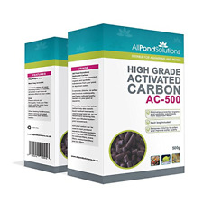 400g Activated Carbon Fish Tank Filter Media for Aquarium and Ponds All Pond