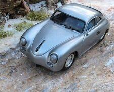 Probuild 1/32 GTM slot car Vintage Silver PORSCHE 356 Coupe 1948 RTR MB