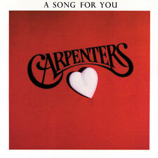 Carpenters A SONG FOR YOU Remastered A&M RECORDS New Sealed CD