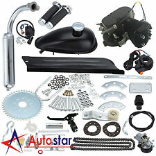 80CC 2 Stroke Motorised Bicycle Motorized Push Bike Petrol Gas Motor Engine Kit