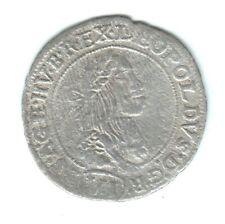 Moneta Austria Ungheria 6 kreuzer 1672 argento