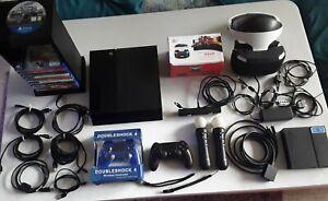 Ps4 mit VR Brille Kamera Headset Spiele Controller und vieles mehr  Megapack