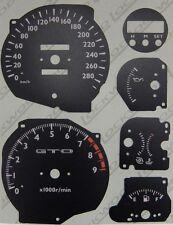 Lockwood MITSUBISHI GTO/3000GT KMH quadrante nero KIT di conversione 8093