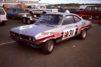 PHOTO  P.J. BROWN'S 2.3 VAUXHALL FIRENZA SL SPORT SILVERSTONE 20.10.84  MAY BE A