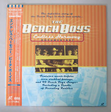e152 Japan Laserdisc THE BEACH BOYS Endless Harmony DOCUMENTARY Barbara κ