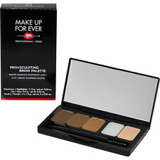 MAKE UP FOR EVER PRO SCULPTING BROW PALETTE H1 RRP £33 EYEBROW 4 IN 1 PALETTE