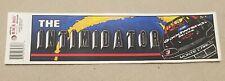 UNUSED 1990s Dale Earnhardt Sr THE INTIMIDATOR #3 Bumper Sticker Decal NASCAR
