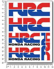 HRC Honda aufkleber 5 stickers decal Verbund cbr 600 1000 rr racing 12x16cm