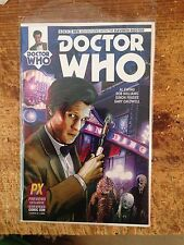 Doctor Who Sdcc Variant 2014 Zhang Cover 11th Doctor #1