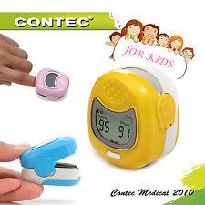 Kids Child Pediatric Lcd Fingertip Pulse Oximeter Pr Spo2 Monitor Blood Oxygen