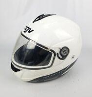 AGV Miglia  Full-Face Helmet Gloss White Size Extra Large
