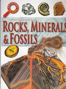 Rocks Minerals and Fossils Book for Children 9-11