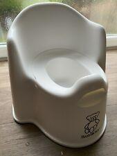 Boys or Girls White Baby Bjorn Potty Chair & Training Seat
