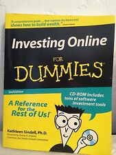 Investing Online for Dummies by Kathleen Sindell (2000, Paperback)