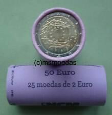 Portugal 2 Euro Rolle 2015 Europaflagge flag mit 25x 2 Euro Gedenkmünzen roll