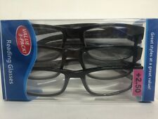 Lot of 6 Reading Glasses Kenneth  +2.50 New in Package