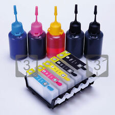 Refillable Ink cartridges Kit for Canon PGI-525 CLI-526 MG5150 MG5250 MG5200