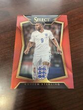 2015 Select Soccer Raheem Sterling Red Prizm /199 Rookie RC #32 Manchester City
