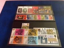 GB commemorative stamps 1970, Complete Year of 6 Sets, MNH