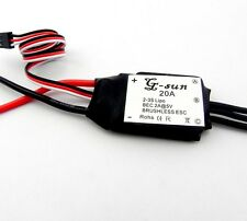 20A ESC Brushless motor Speed Controller BEC for quadcopter 4 axis aircraft